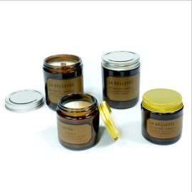 Wholesale luxury Vintage candle jar aromatherapy soy aroma candle scented