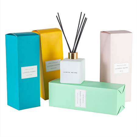 HOT Selling scented candles & reed diffuser fragrance gift set with glass bottle
