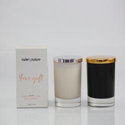 Luxury Customized Valentine Wedding Scented Soy Wax Glass Candle Jar