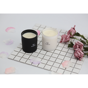 Luxury Customized Valentine Wedding Scented Soy Wax Glass Candle Jar