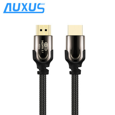 2019 Newest Ultra high speed 2.1 HDMI cable YUV444 3D 8K@60Hz 4K@120Hz 48Gbps 4320P Gold HDMI cable