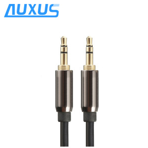 Male to Male 3.5mm Auxiliary audio Cable with Gold Plated Connectors for Apple, Android Smartphones, Tablet and MP3 Players