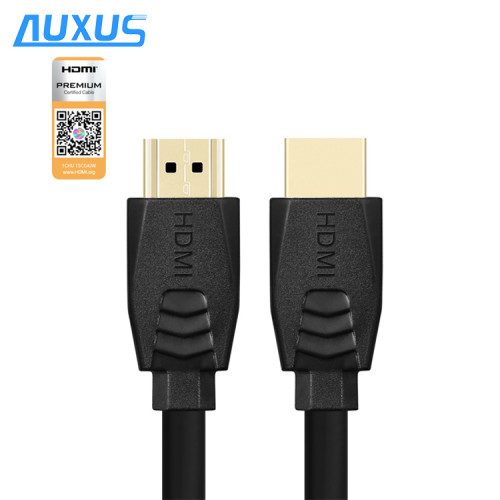 High Quality Scannable Label Support 4K@60HZ, 18Gbps Premium HDMI Cable 24K Gold Plated HDMI Cable