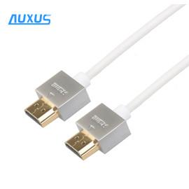 2M Metal casing Ultra Slim thin HDMI Cable 3d 4k
