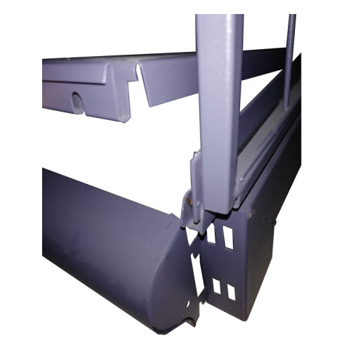 100% Good Quality Omnibearing Display Metal Shelf Used In Retail Supermarket And Store