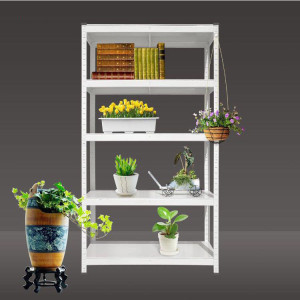 Factory Price Light Duty Steel Storage Shelf Slotted Angle Rack