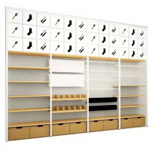 Factory direct produced nice-looking and utilitarian miniso shelf wine display cabinet rack