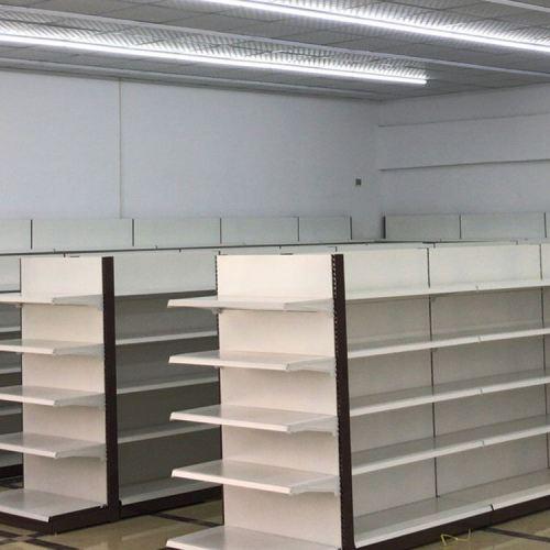 Light duty counter top supermarket metal shelving display shelf