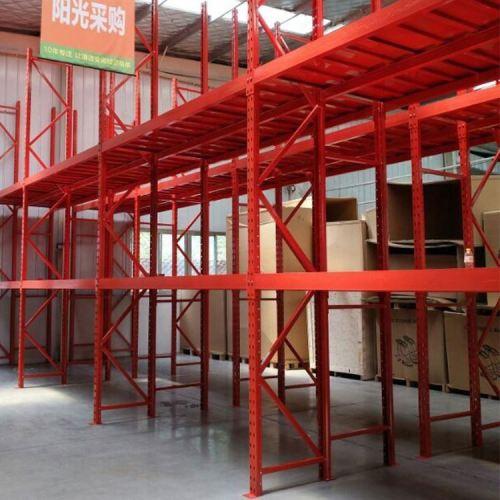 Light middle heavy duty metal warehouse shelf storage rack