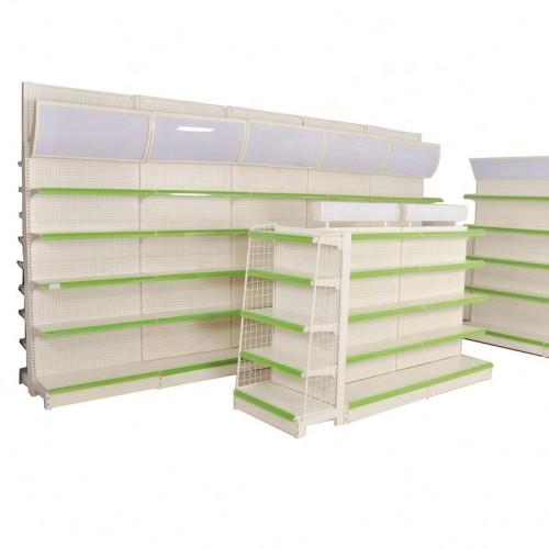 Store storage steel rack shelf supermarket gondola shelf retailer display shelves