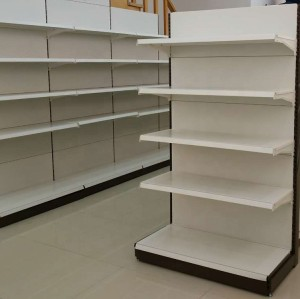 Cheap convenience grocery display store rack shelve supermarket shelf
