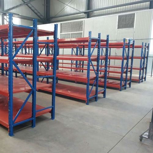 Industrial automated easy assembled stand warehouse storage rack shelves