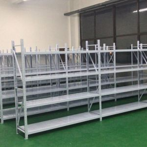 Customized steel metal light duty storage warehouse shelving rack protectors