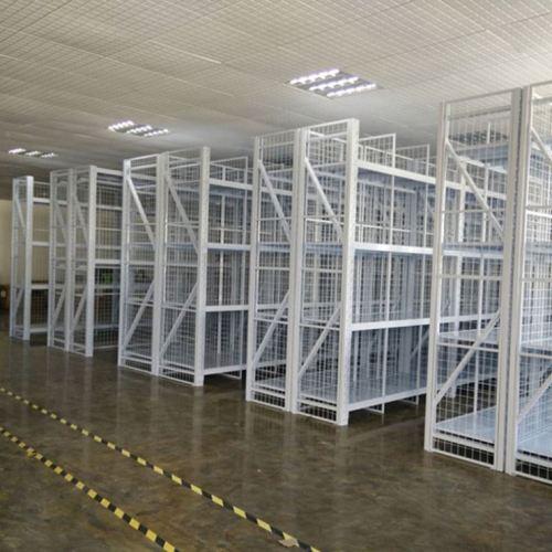 Customized steel metal light duty storage warehouse shelving rack protectors