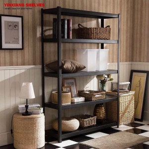 Popular Cold-rolled Steel Medium Duty Household Angle Iron Storage Shelf