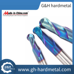 Solid Carbide Ballnose End Mill with Nano Coating