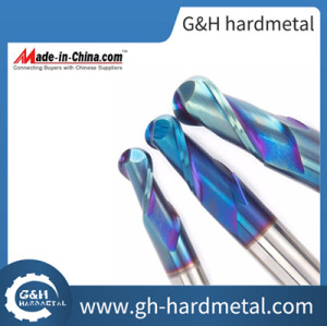 Tungsten Carbide End Mill for CNC Milling Machine HRC60