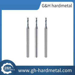 Extra Long Carbide End mills For Super Hard Meterial