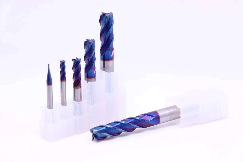 carbide endmills Nano coating