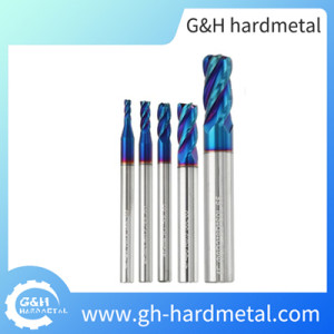 4 Flutes High Performance End Mill CNC Flat End Mill