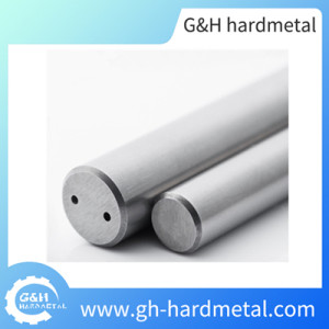 High Quality K30/K40 Carbide Rods with Two Helical Coolant Holes