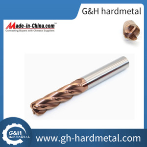 High Quality Corner Radius End Mills CNC Machine Carbide Milling