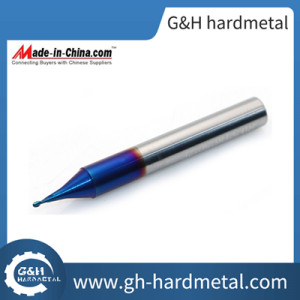 Solid Carbide Ball Nose Micro Grains HRC60 End Mill