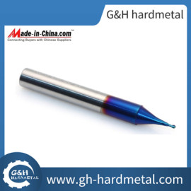 Micro Grain Solid Carbide 2 Flutes Ball Nose End Mills