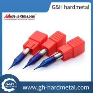 G&H 0.5mm-1.0mm Micro Carbide End Mill for Cutting