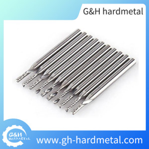 Cemented Carbide End Mill for Aluminum Cutting