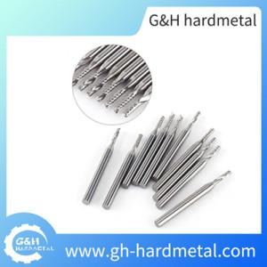 Carbide End Mill for Aluminum No Coating CNC Engraving Bit