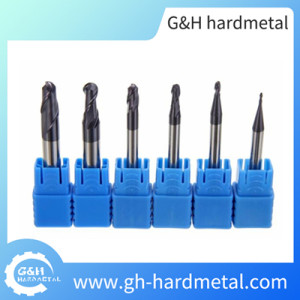 Solid carbid endmills HRC55 for steel