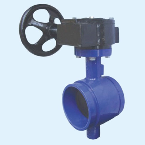 Butterfly Valve Clamp Grooved-end