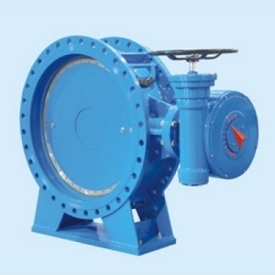 The double eccentric seal butterfly valve