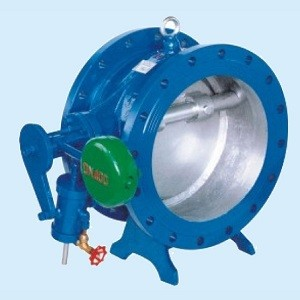 Factory price Butterfly Buffering Check Valve