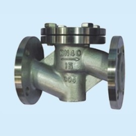 PTFE lined valve corrosion resistant stainless steel check valve