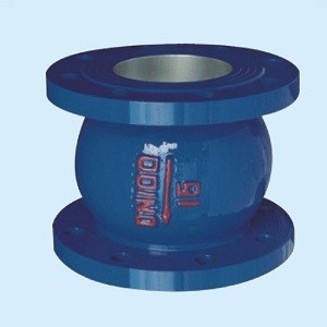 DN40 PN16 spring loaded noise elimination silent check valve