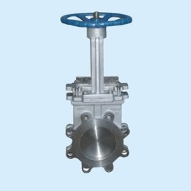 Handhwheel PN10 ductile iron wafer knife Gate Valves
