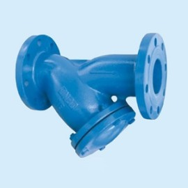 Factory Direct Ductile Iron Flanged Type Y Strainer