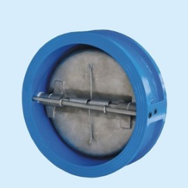 Wafer Type Double Disc Butterfly Check Valve