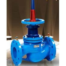 The main difference between static balancing valve and dynamic balancing valve
