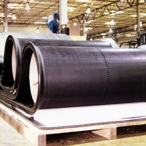 Front Filter Rubber Conveyor Belt for mine extraction