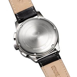 Movimiento cronógrafo de 3 ojos con la caja impermeable de acero inoxidable del calendario personalizar el logotipo propio
