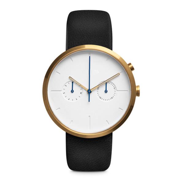 Herrenarmbanduhr mit PVD-Beschichtung und 2-Augen-Chronographen-Uhrwerk. Passen Sie Ihr eigenes Logo an