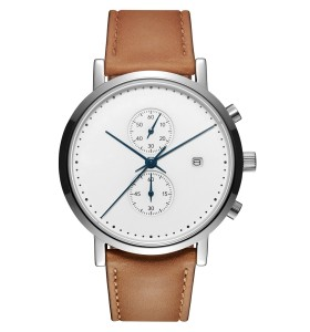 حركة كرونوغراف كوارتز ساعة اليد للرجال الفولاذ المقاوم للصدأ المواد ساعة اليد
