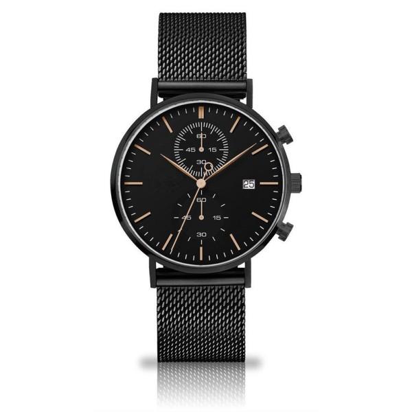 Personaliza tu reloj de hombre con reloj de acero inoxidable resistente al agua