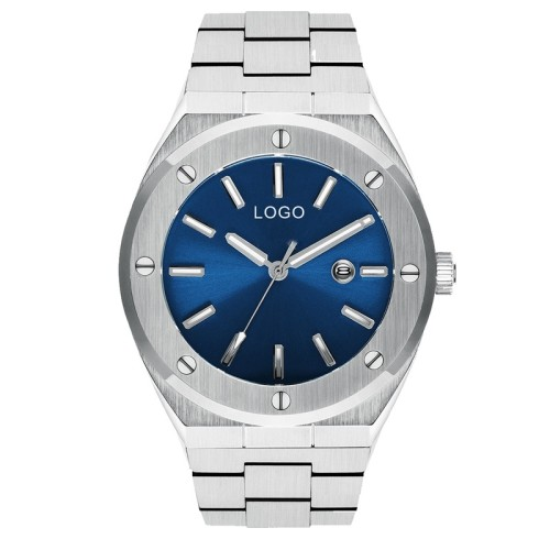 Youw الخاصة تصميم 10ATM مقاومة للماء الياقوت زجاج ساعة اليد
