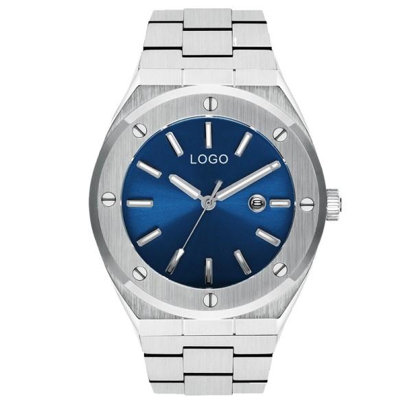 Youw propio diseño 10ATM reloj de pulsera de cristal de zafiro resistente al agua