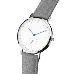 ساعة من الجلد الصناعي مع سوار كرونو من حركة miyota اليابانية