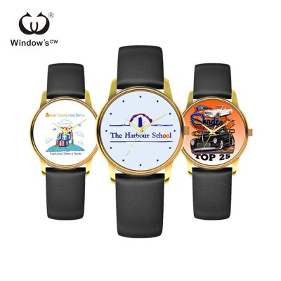Custom your own design private label image watch gift watch
